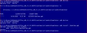 adb PUSH of AIR 2.5 Runtime onto Android 2.2 Emulator