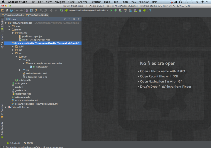 Android Studio Perspective