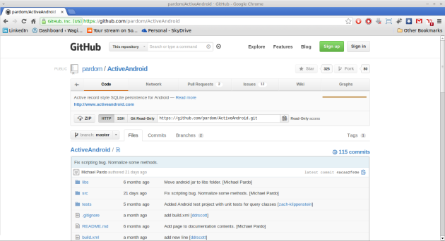 Screenshot-pardom-ActiveAndroid · GitHub - Google Chrome
